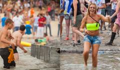 festival hitte heet water