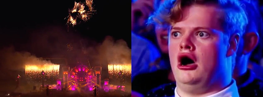 Funny: Your face at your first Defqon.1 || Hard News