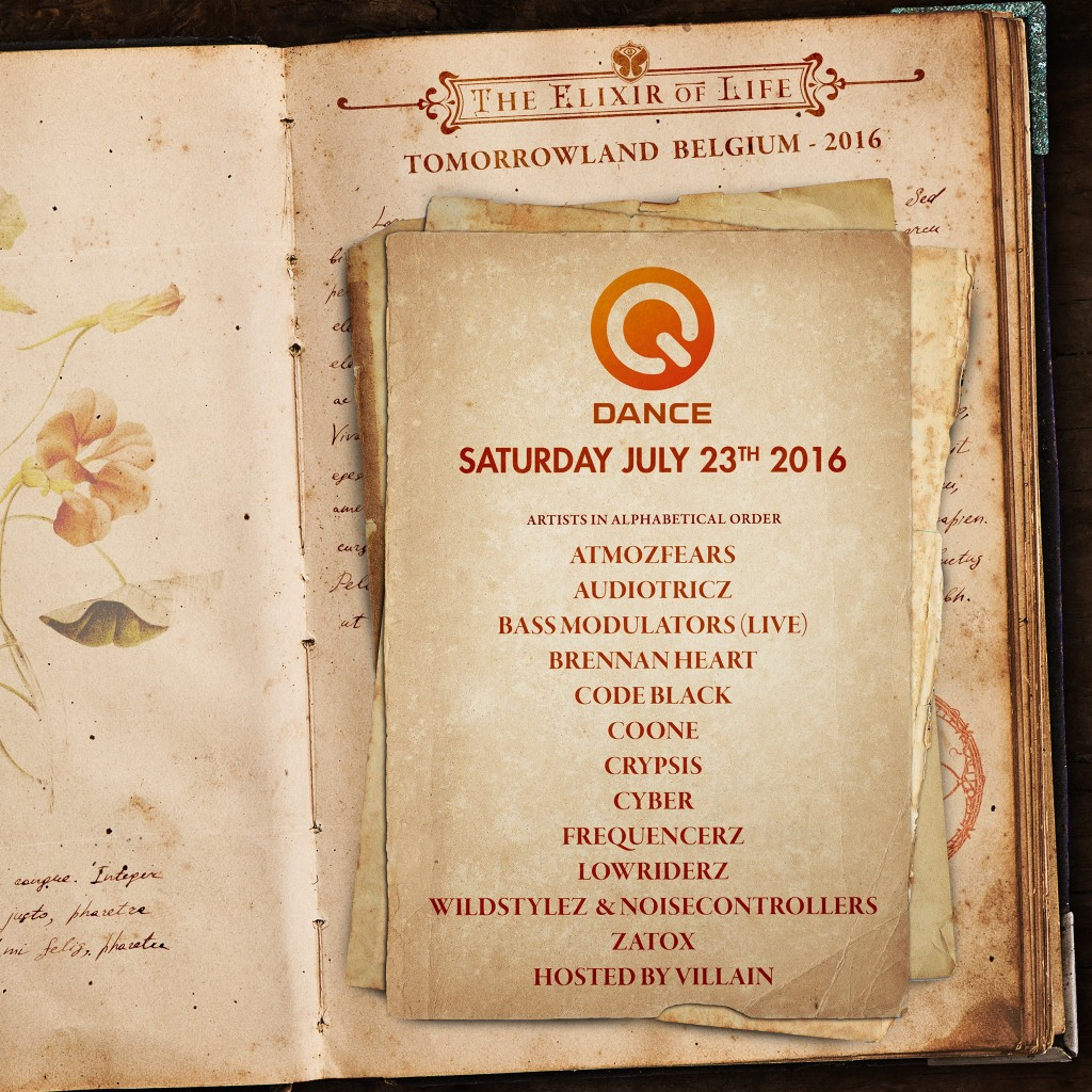 Tomorrowland 2015 lineup