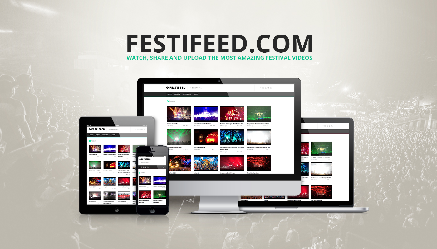 festifeed banner festivals nederland video film filmpjes