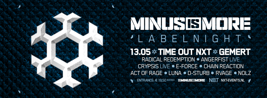 minus is more labelnight gemert nxt events