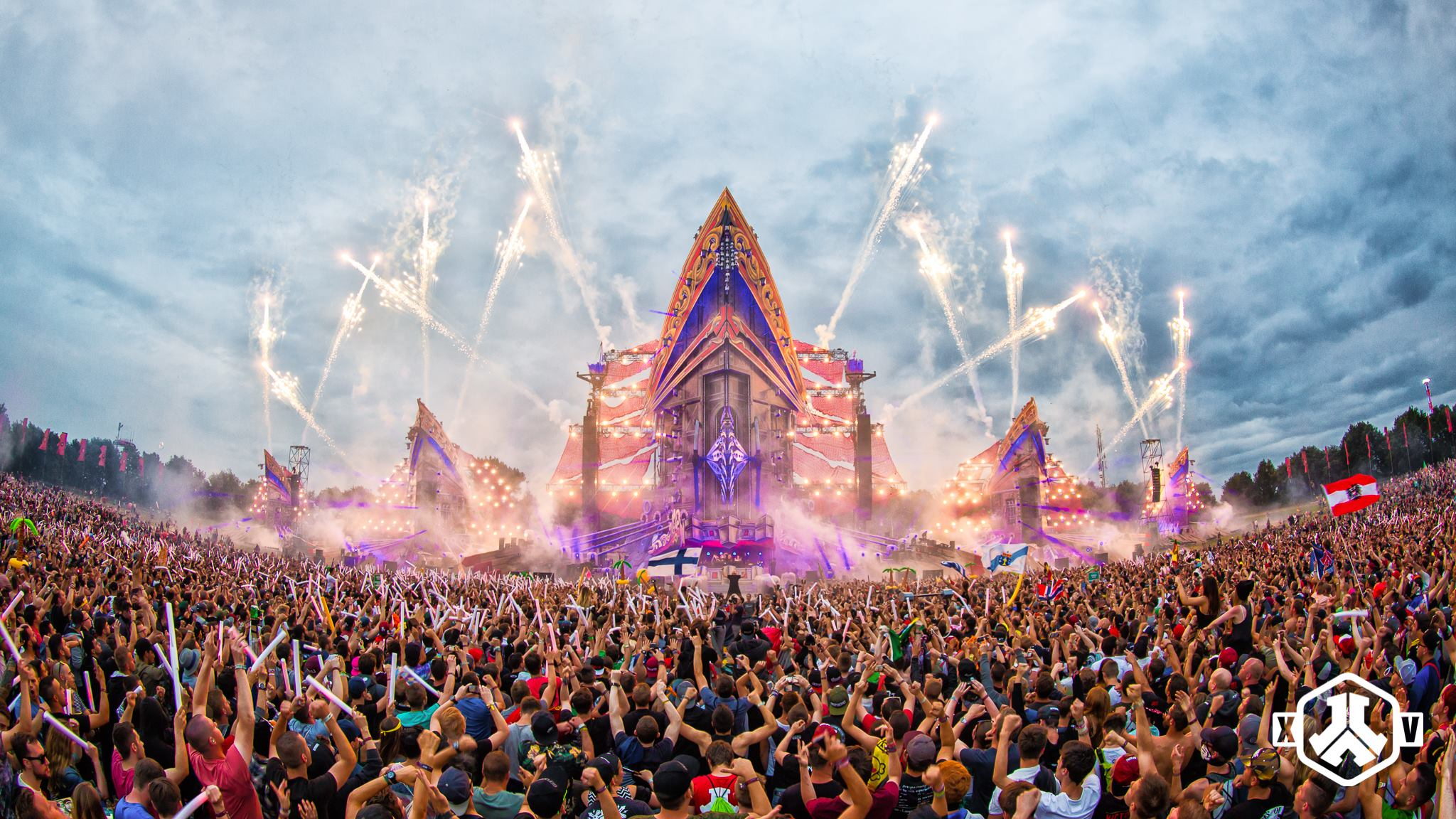 Defqon 1 Zelt : These are the defqon livesets hard news
