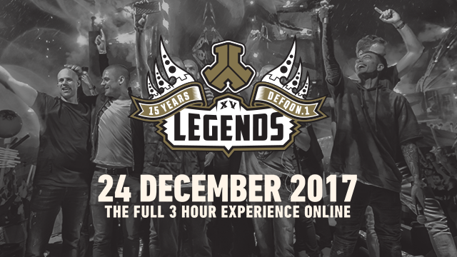 De 3 uur durende liveset van Defqon.1 Legends 2017 komt eraan - Relive Defqon.1 Legends 2017 with the full 3-hour registration