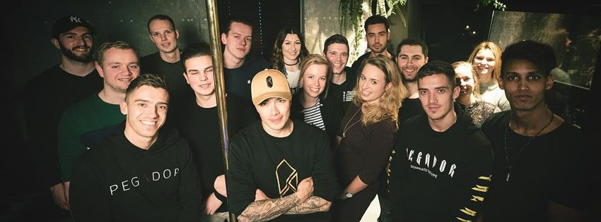 headhunterz album release party hard with style studio omslag