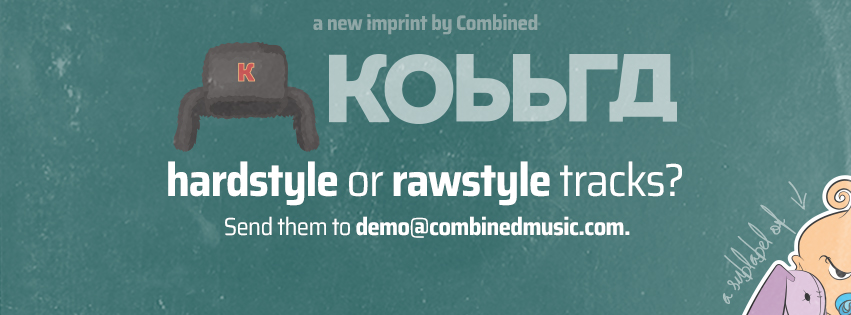 KOBBRA. THE NEW HARD/RAWSTYLE LABEL BY COMBINED