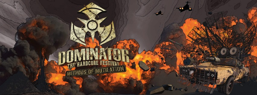 dominator 2016 line-up methods mutilation