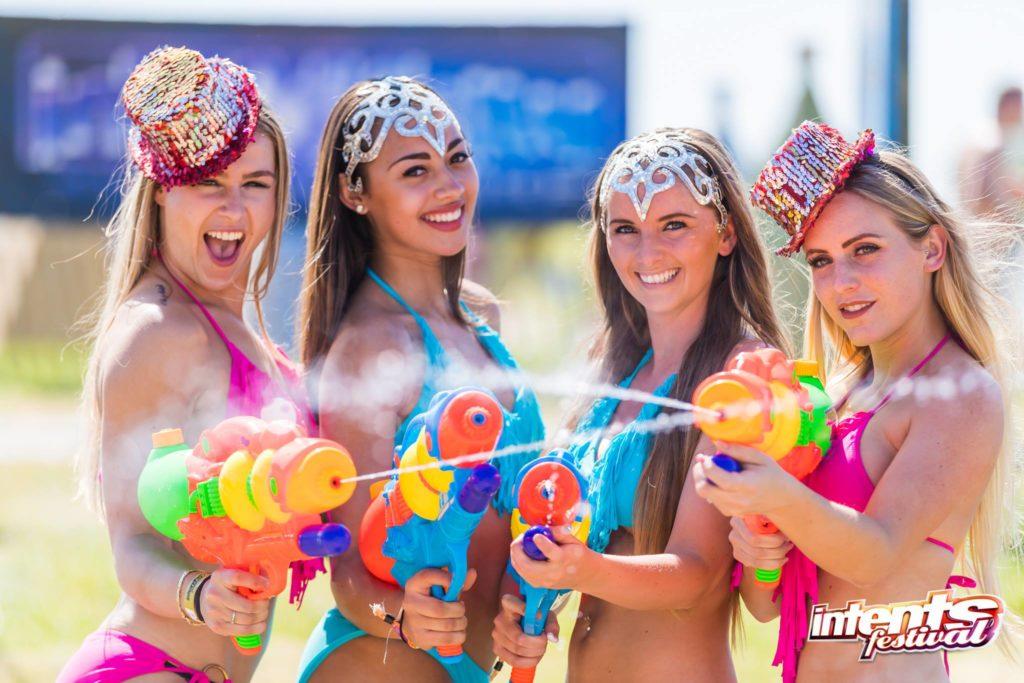 hitte warm heet op festivals