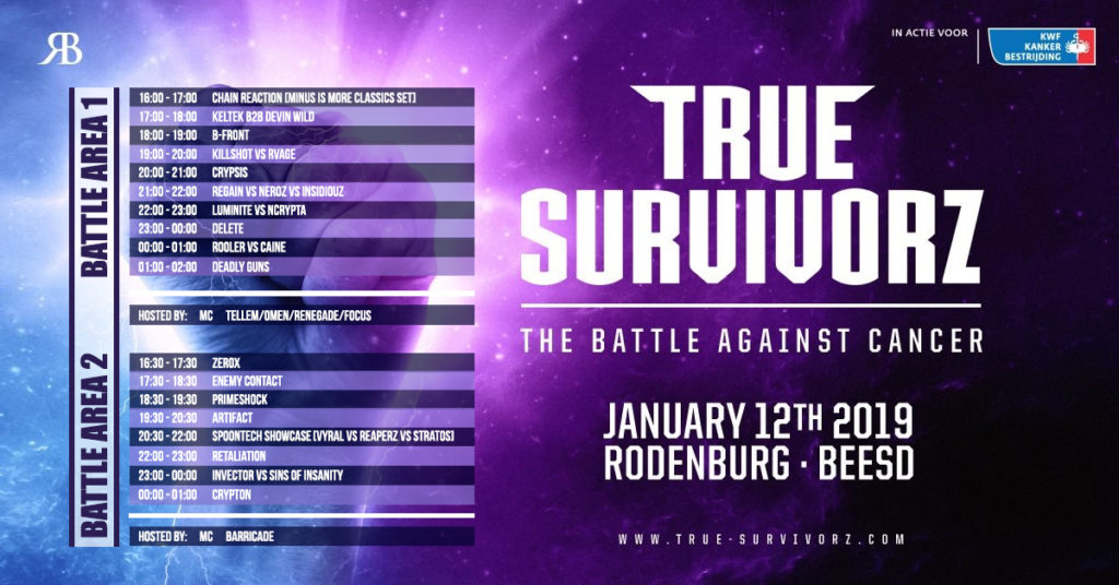 True Survivorz 2019 - The Battle Against Cancer