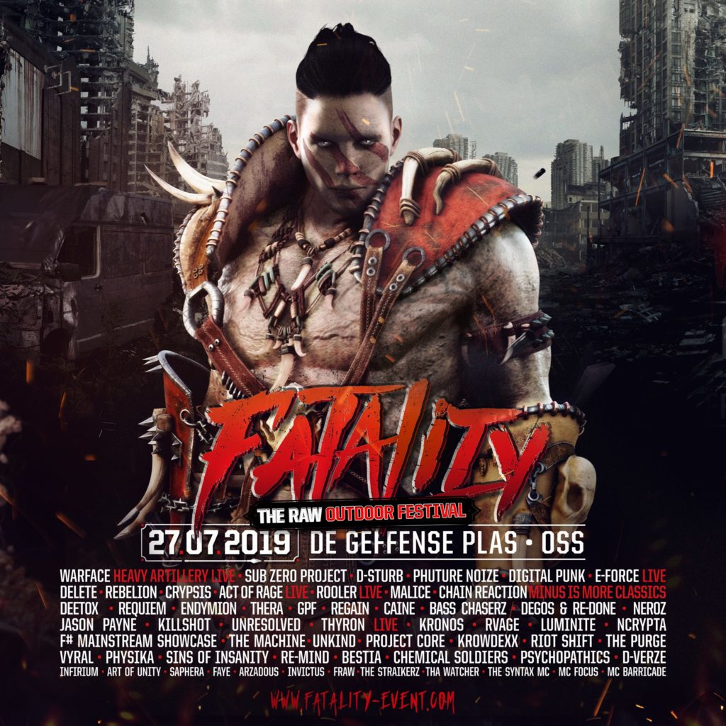 Fatality 2019 line-up
