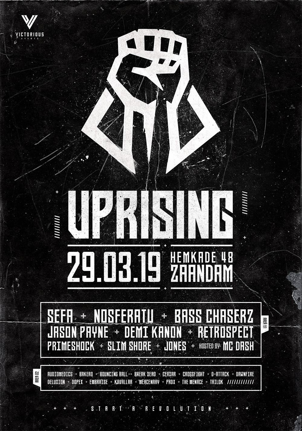 Uprising 2019 - Start a Revolution - North Sea Venue