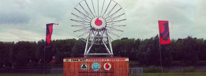 Vodafone geen bereik op festivals 2019