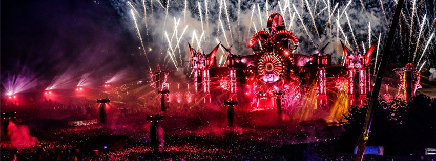 defqon.1 2019 endshow saturday sunday headhunterz orange heart