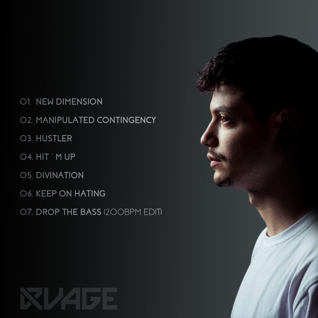 RVAGE - New Dimension album tracklist