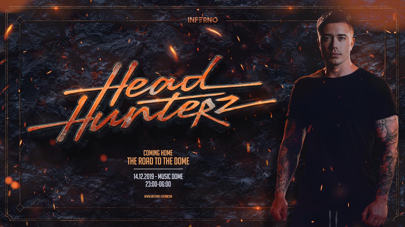 Headhunterz Coming Home event The Road To the dome