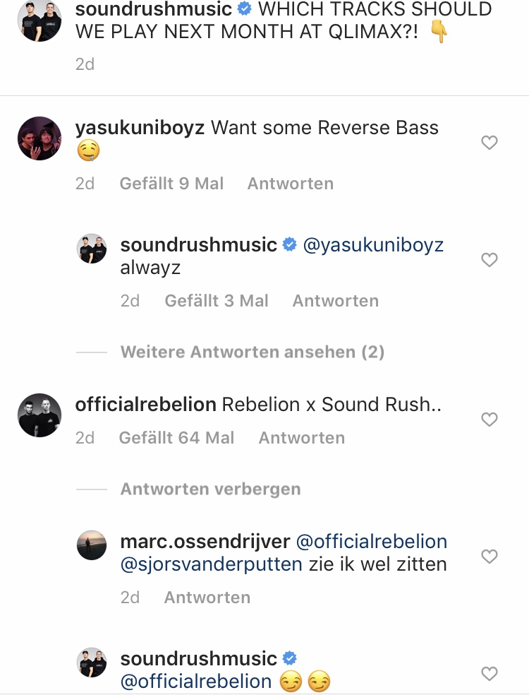 Rebelion Sound Rush collab