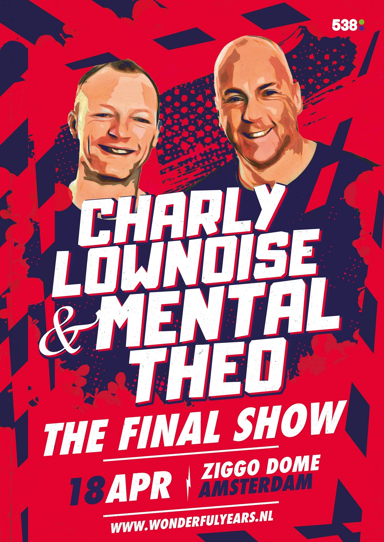 Charly Lownoise & Mental Theo The Final Show Ziggo Dome Amsterdam