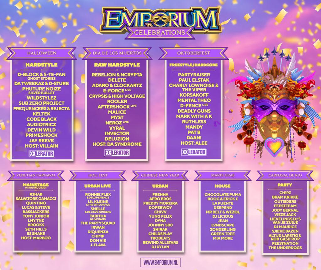 Emporium Festival 2020 line-up
