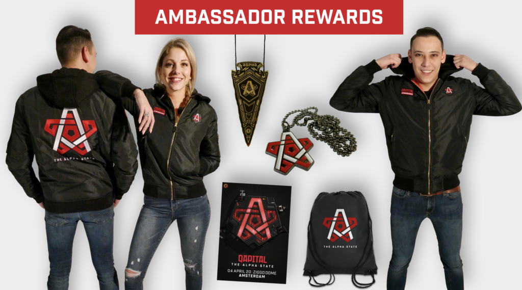 QAPITAL Ambassador rewards