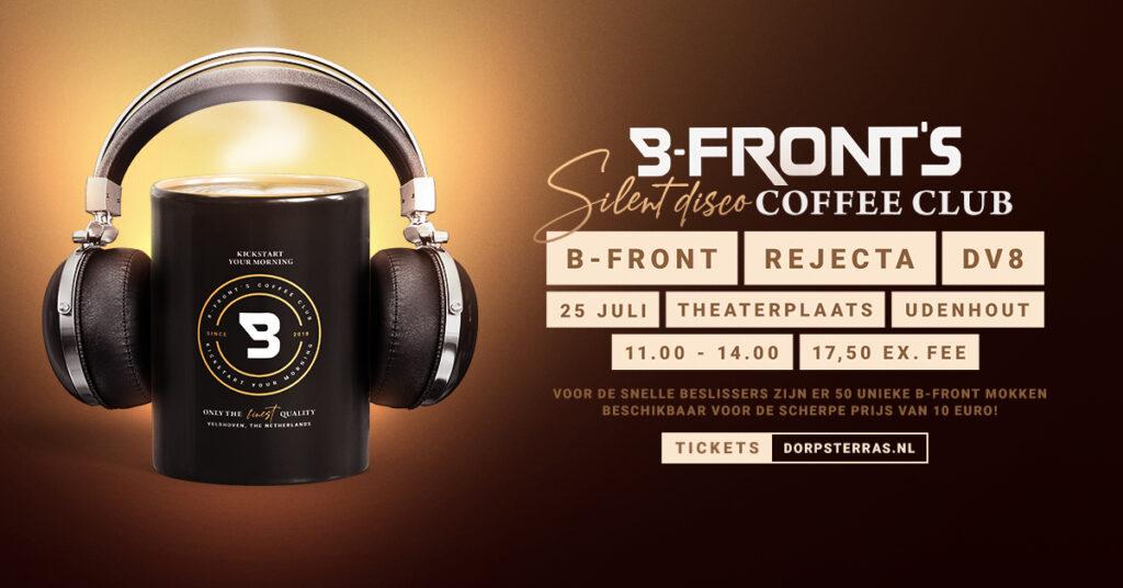 B-Front's Silent Disco Coffee Club