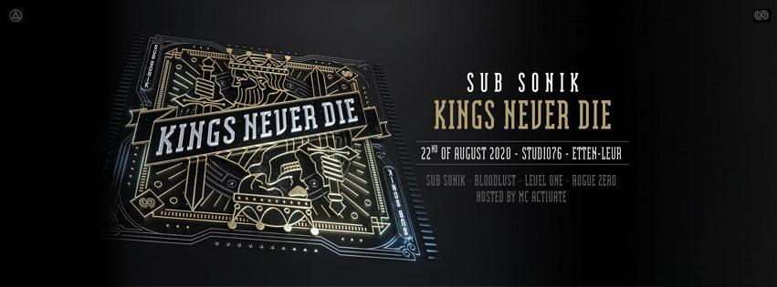 Recharged presents: Sub Sonik 'Kings Never Die'