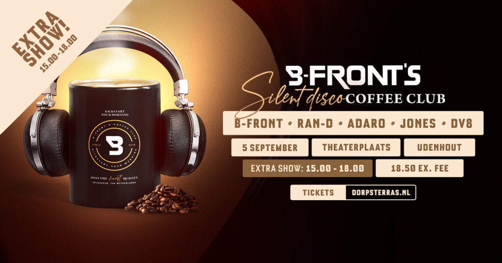 B-Front's Silent Disco Coffee Club