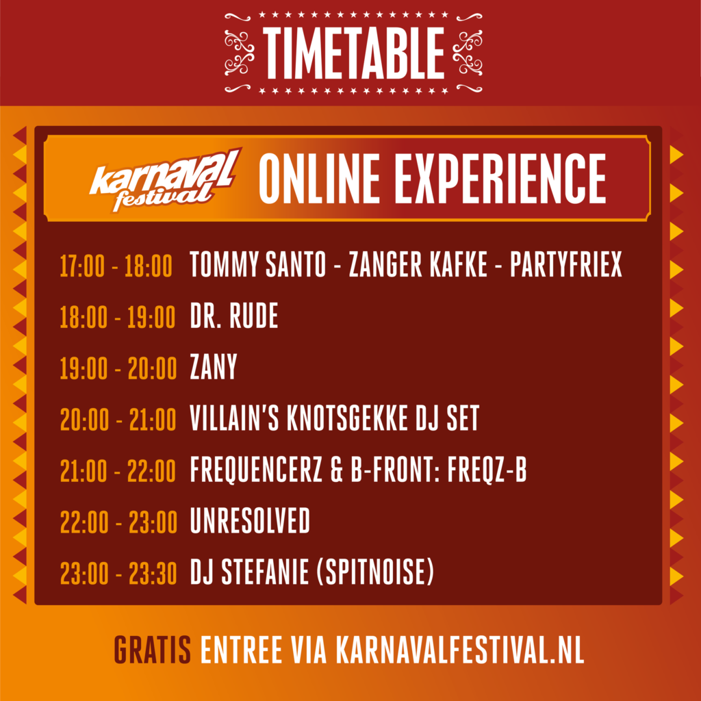 Karnaval Festival 2021 Online Experience stream