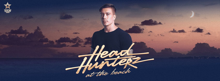 headhunterz at the beach outlaw events bloemendaal aftershock code black