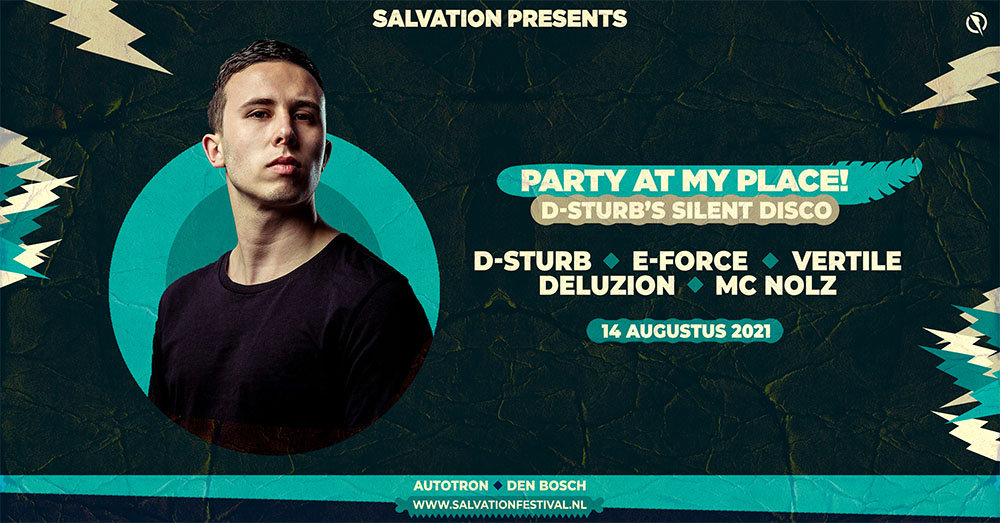 D-Sturb Salvation 750 man festival Shockerz hardstyle rawstyle